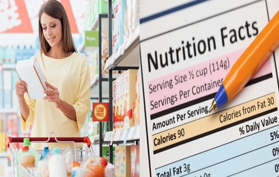 Nutrition label favors food quality over amount