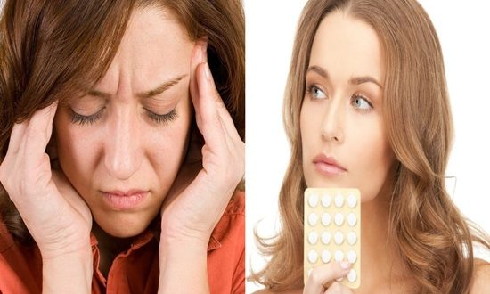 Oral contraceptives diminish general prosperity in healthy ladies