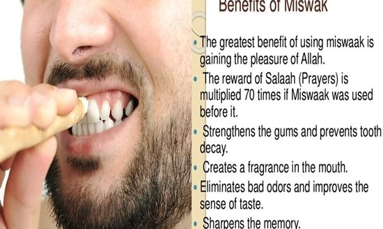 4 Benefits of Using Miswak