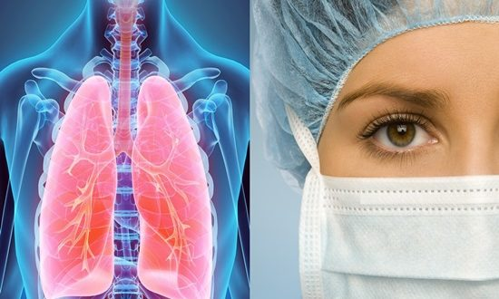 Groundbreaking method for filling, fixing pleural cavities prior to lung surgery