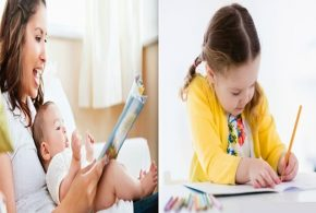 Little children can start learning reading and composing at early age