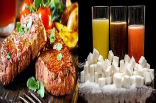 Protein-rich meals and sugary beverages cause problems when used together
