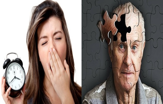 Sleep disorder may increment cognitive issues especially Alzheimer's