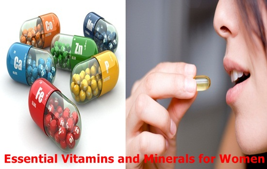 Essential Vitamins and Minerals for Womenff