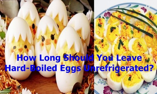 Hard-Boiled Eggs Unrefrigerated